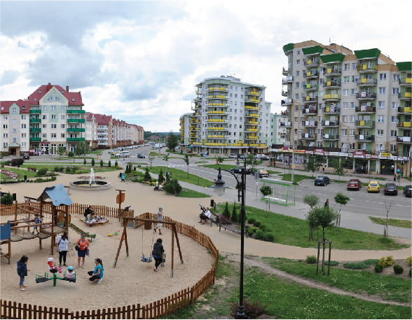 City Of Elk Poland Flashnet Energy Aware