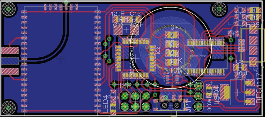 LoRaWAN™_LoRa environmental monitor for air pollution - circuit