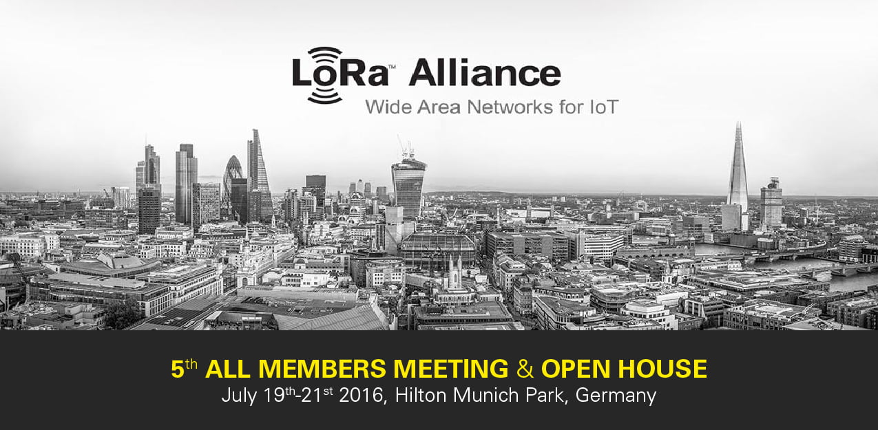 Flashnet at the 5th LoRa™ Alliance All Members Meeting in Munchen, Germany