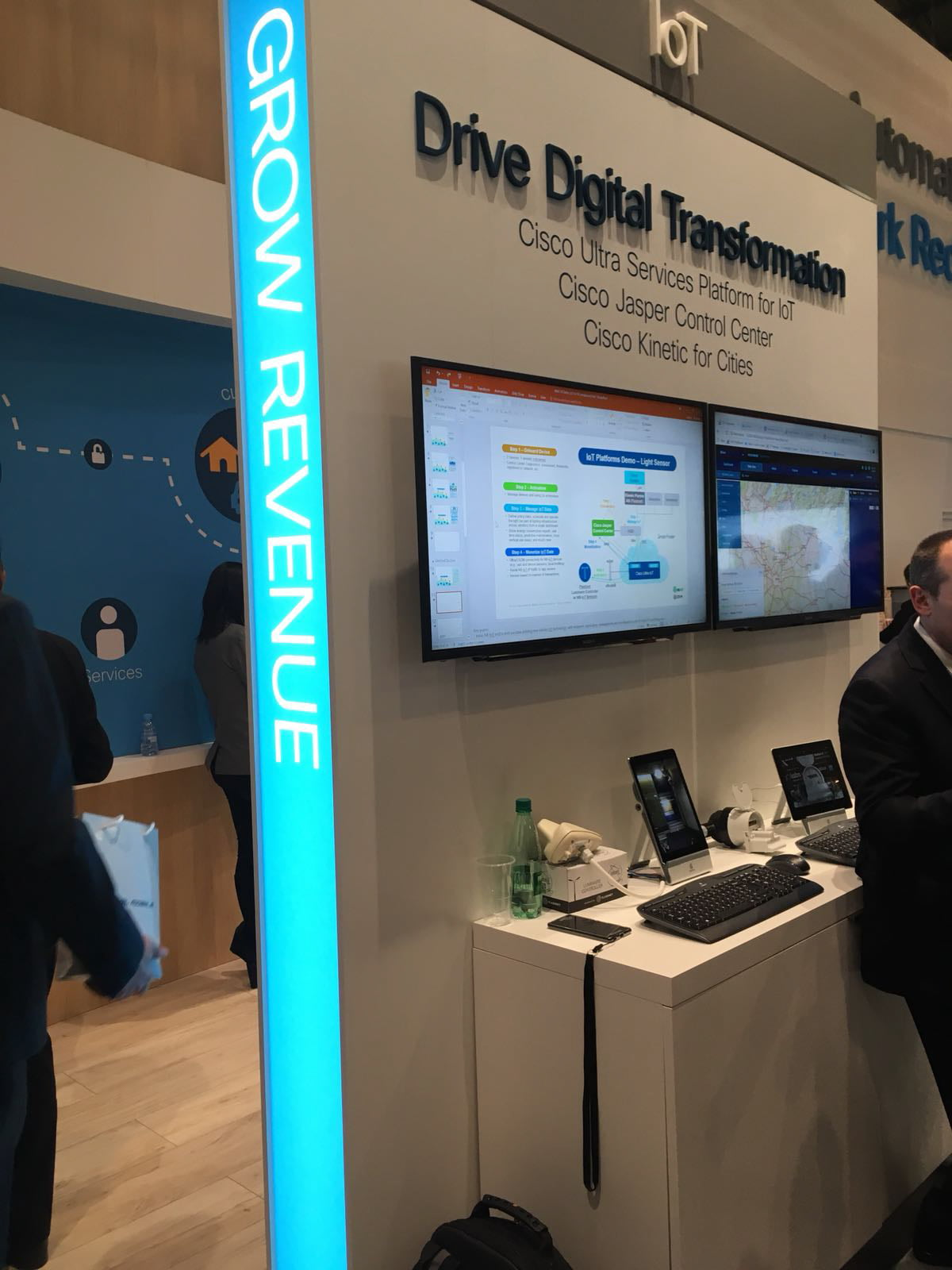 inteliLIGHT streetlight control solution during Mobile World Congress 2018_Cisco