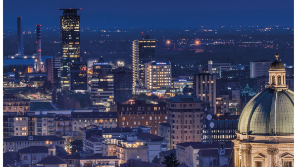 inteliLIGHT installs the first large-scale connected lighting project using LoRaWAN™ Zhaga compatible controllers in Brescia, Italy